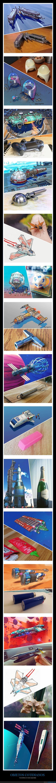 naves espaciales,objetos