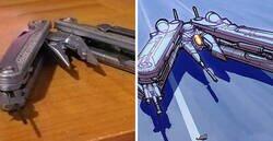 Enlace a Este artista convierte objetos cotidianos en diseños de naves espaciales
