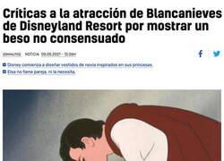 Enlace a Blancanieves cancelada