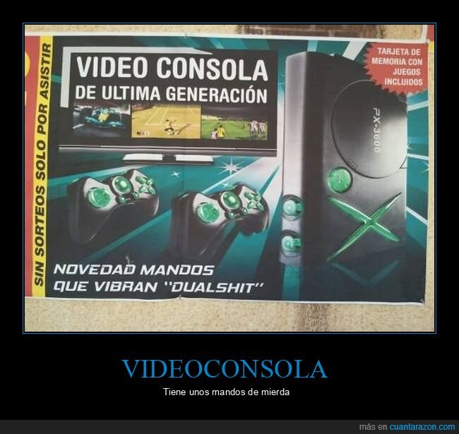 consola,dualshit,mandos