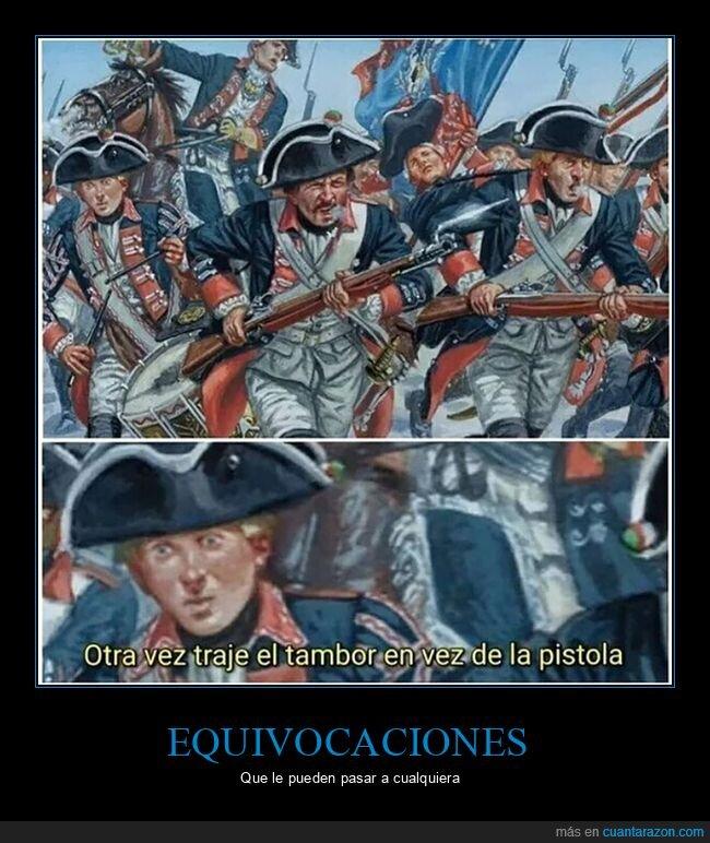 guerra,pistola,tambor