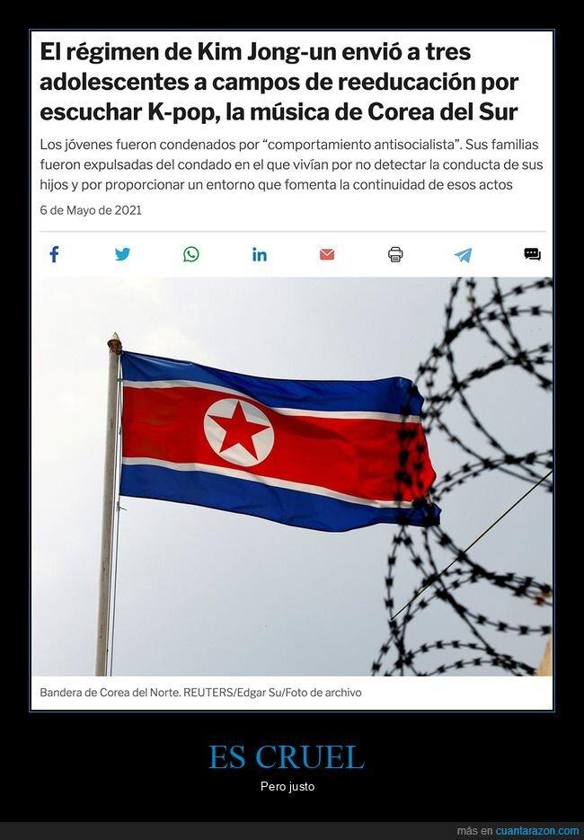 campo de reeducación,corea del norte,kim jong un,kpop