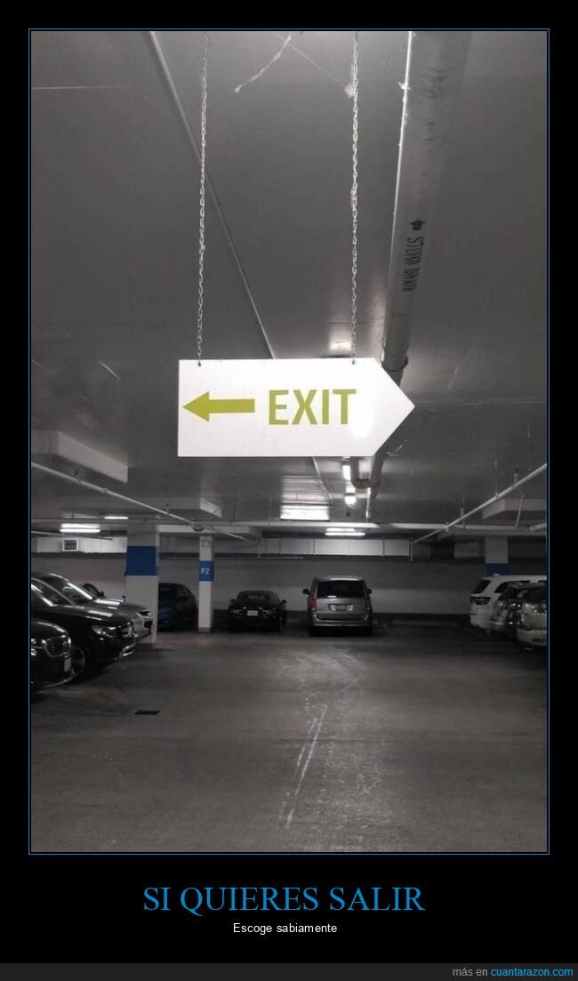cartel,fails,salida