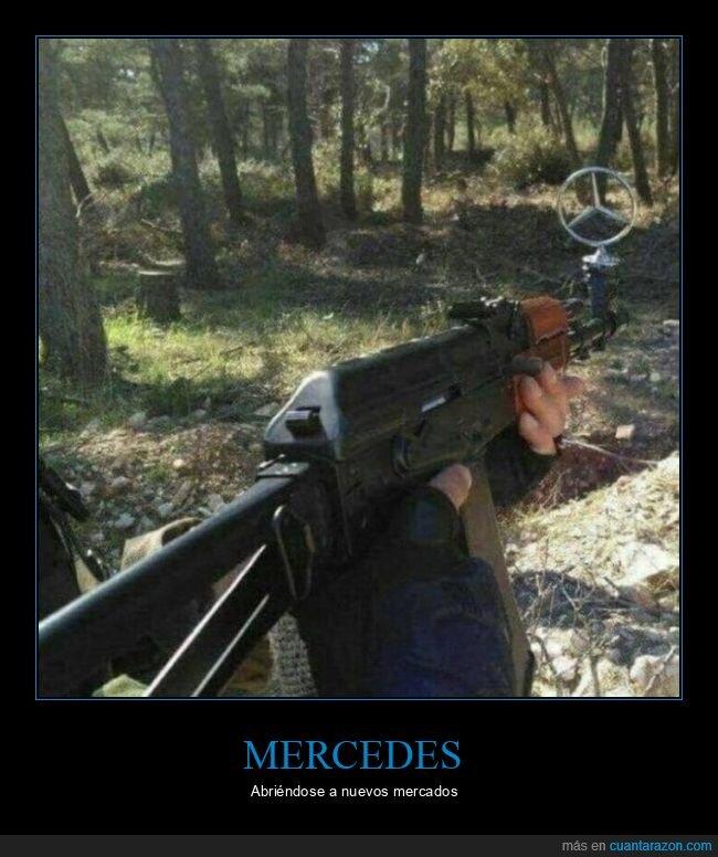 arma,mercedes,mirilla