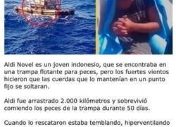 Enlace a Historias de personas que se perdieron en medio del océano