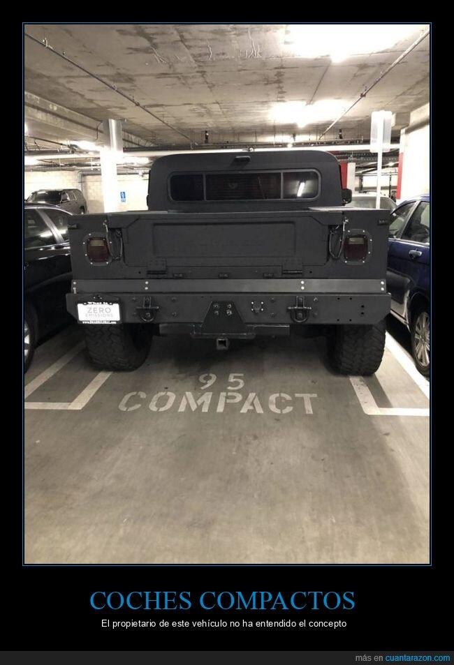 coche,compacto,parking