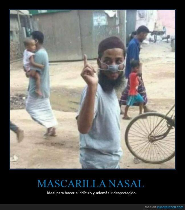 mascarilla nasal,wtf