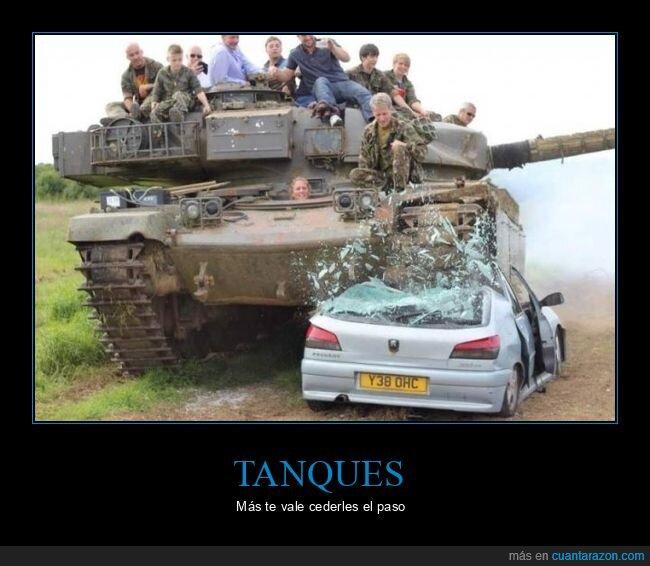coche,tanque,wtf