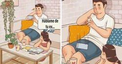 Enlace a Encantadores cómics que muestran cómo es estar en una relación, por Luong Thuy