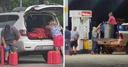 Enlace a Fotos que muestran a los estadounidenses enloquecidos por la «escasez de gasolina» que prácticamente han creado ellos mismos