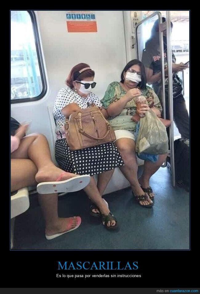 mascarillas,señoras