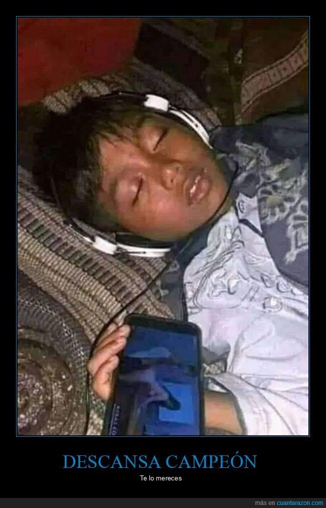 durmiendo,móvil,niño
