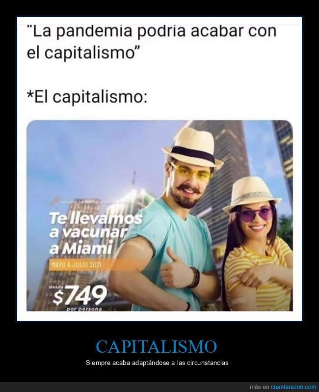 capitalismo,miami,pandemia,vacunas,viaje