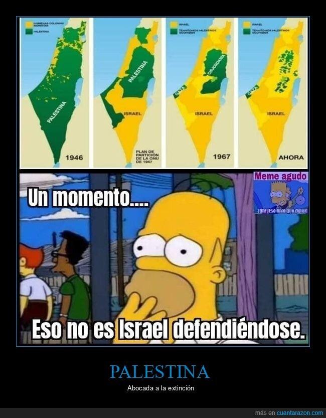 israel,mapa,palestina,simpsons