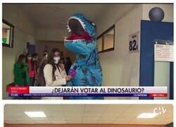 Enlace a Dinosaurio democrático