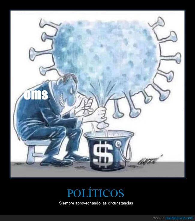 coronavirus,dinero,oms