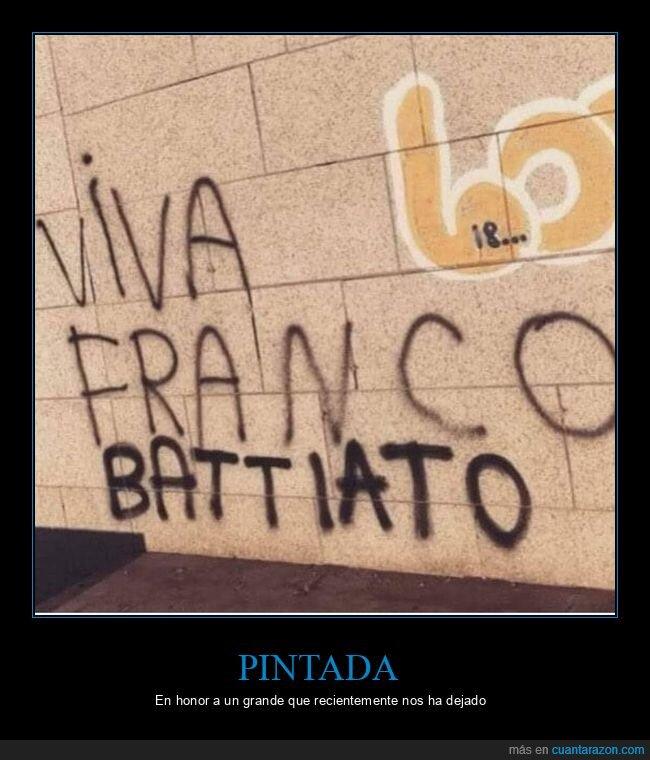 franco,franco battiato,graffitis