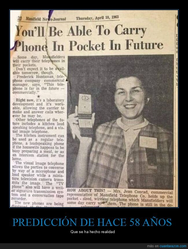 58 años,móviles,predicción,realidad