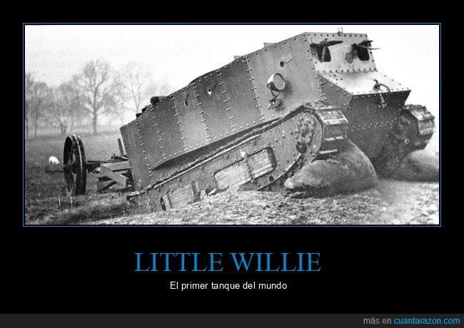 little willie,tanque