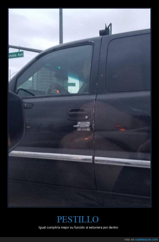 coche,pestillo,puerta,wtf