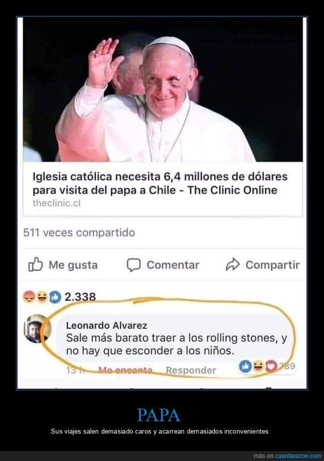 papa,rolling stones,viaje