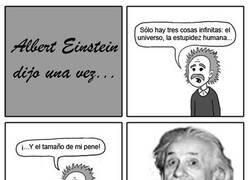 Enlace a Palabra del mismísimo Albert Einstein