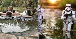 Enlace a Este fotógrafo usa juguetes de la cultura pop para crear increíbles fotografías de acción