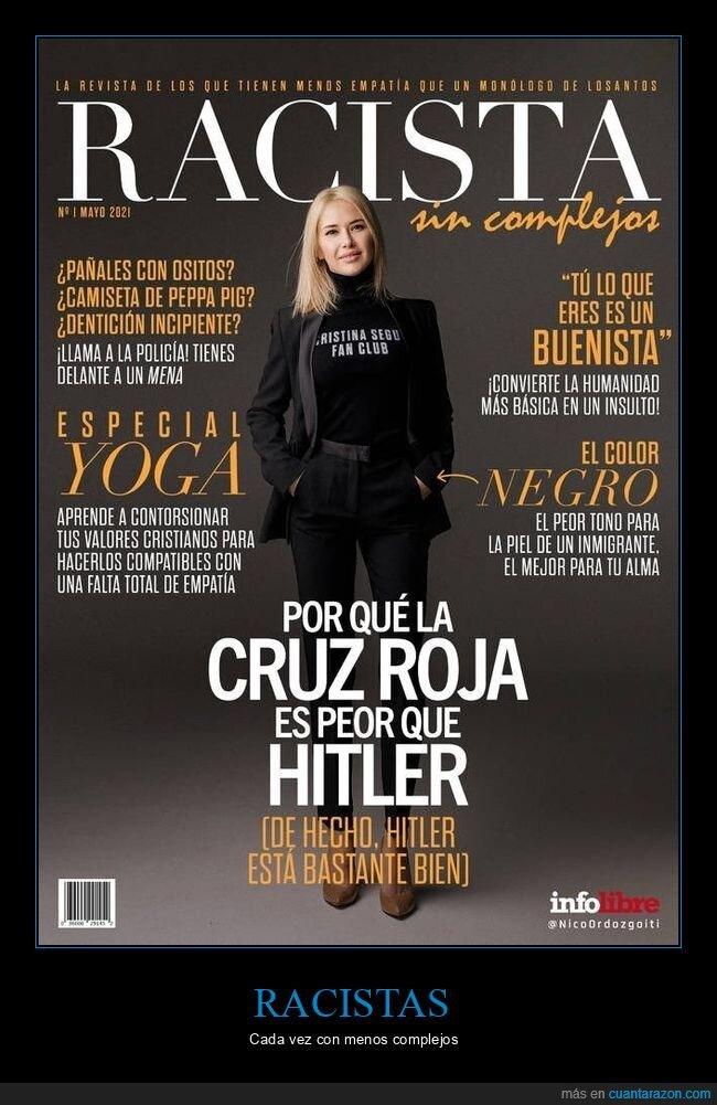 racista,revista,sin complejos
