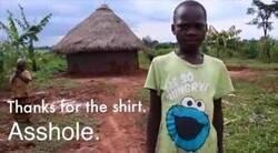 Enlace a Gracias por la camiseta...