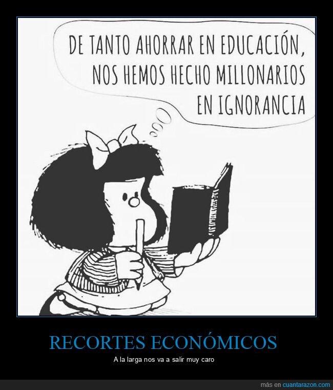 económicos,mafalda,recortes