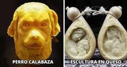 Enlace a Impresionantes obras de arte hechas completamente con comida que no querrás comer