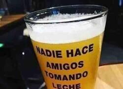 Enlace a Cerveza con mensaje