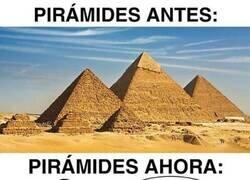 Enlace a Las pirámides ya no son lo que eran...