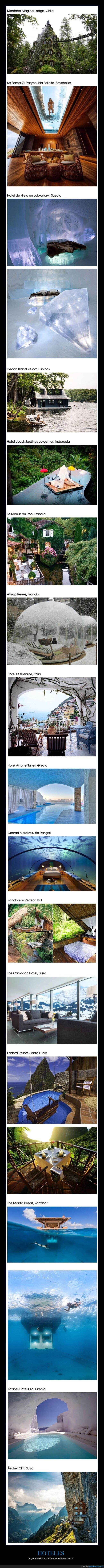 hoteles,impresionantes