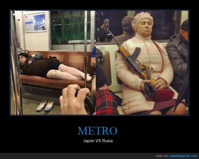 japos,metro,personajes,rusos