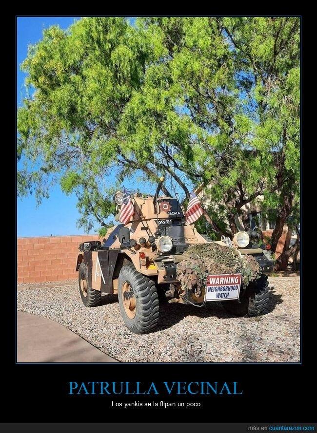 patrulla vecinal,vehículo,wtf