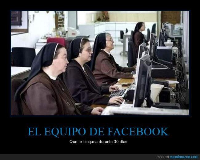 bloquear,facebook,monjas