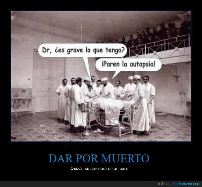 autopsia,grave,médicos