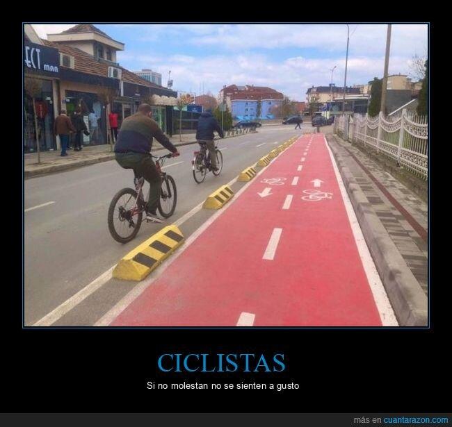 bicicletas,carril bici,ciclistas