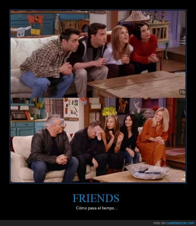 ahora,antes,friends