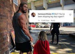 Enlace a Las piernas de Thor