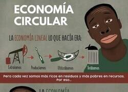 Enlace a Economía lineal VS Economía circular