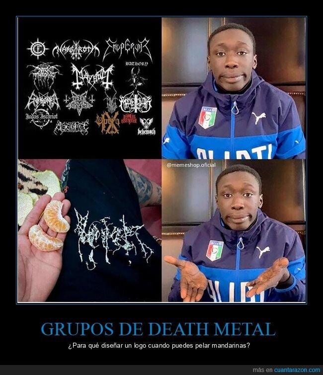 death metal,life hacks,logo,mandarina