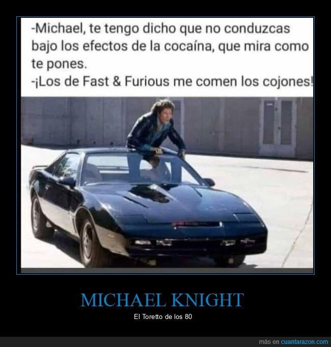el coche fantástico,michael knight
