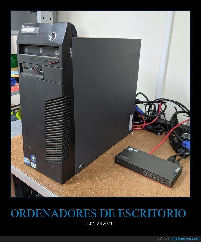 ahora,antes,ordenadores,tamaño