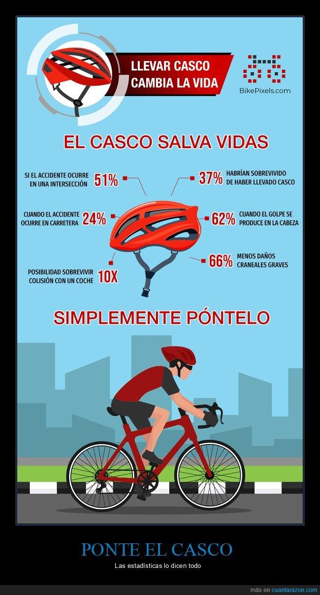 bicicleta,casco,ciclismo,infografía,seguridad