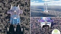 Enlace a Limpiando los océanos y creando algo útil