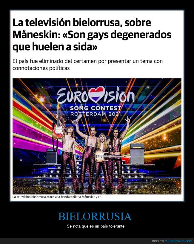 bielorrusia,eurovisión,måneskin