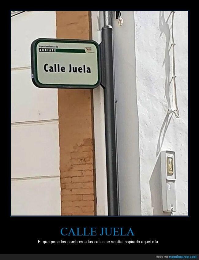 calle,callejuela,nombres
