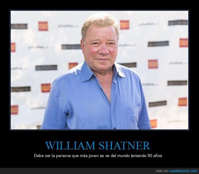 90 años,william shatner
